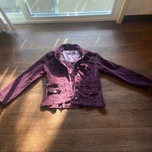 L.A. blues corduroy jacket